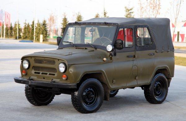 В продаже уже есть такой УАЗик  Подготовленный к бездорожью УАЗ-469 покорил сеть