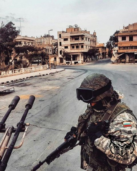 Российских солдат в Сирии заметили в американской форме