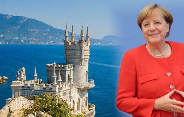В Крыму отреагировали на слова Меркель об оккупации полуострова
