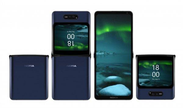 Nokia может выпустить смартфон с гибким экраном