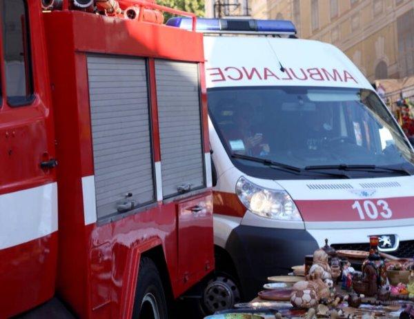 На трассе Лянтор  Карымкары в ХМАО перевернулся грузовик с вахтовиками