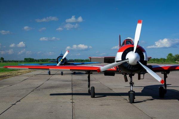 В 50 км от Самары погибли два пилота при падении легкомоторного самолета