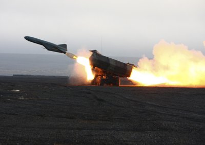 Украина показала видео испытания противокорабельной ракеты Нептун